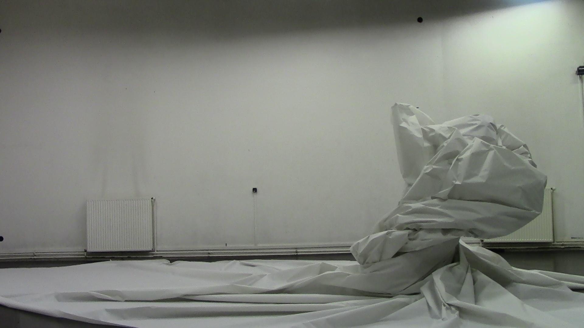 Scénographie de Paysage de la disparition à l'Arsenal de Metz