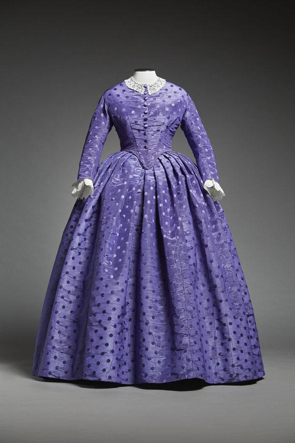 Robe d'après-midi deux-pièces (1856)