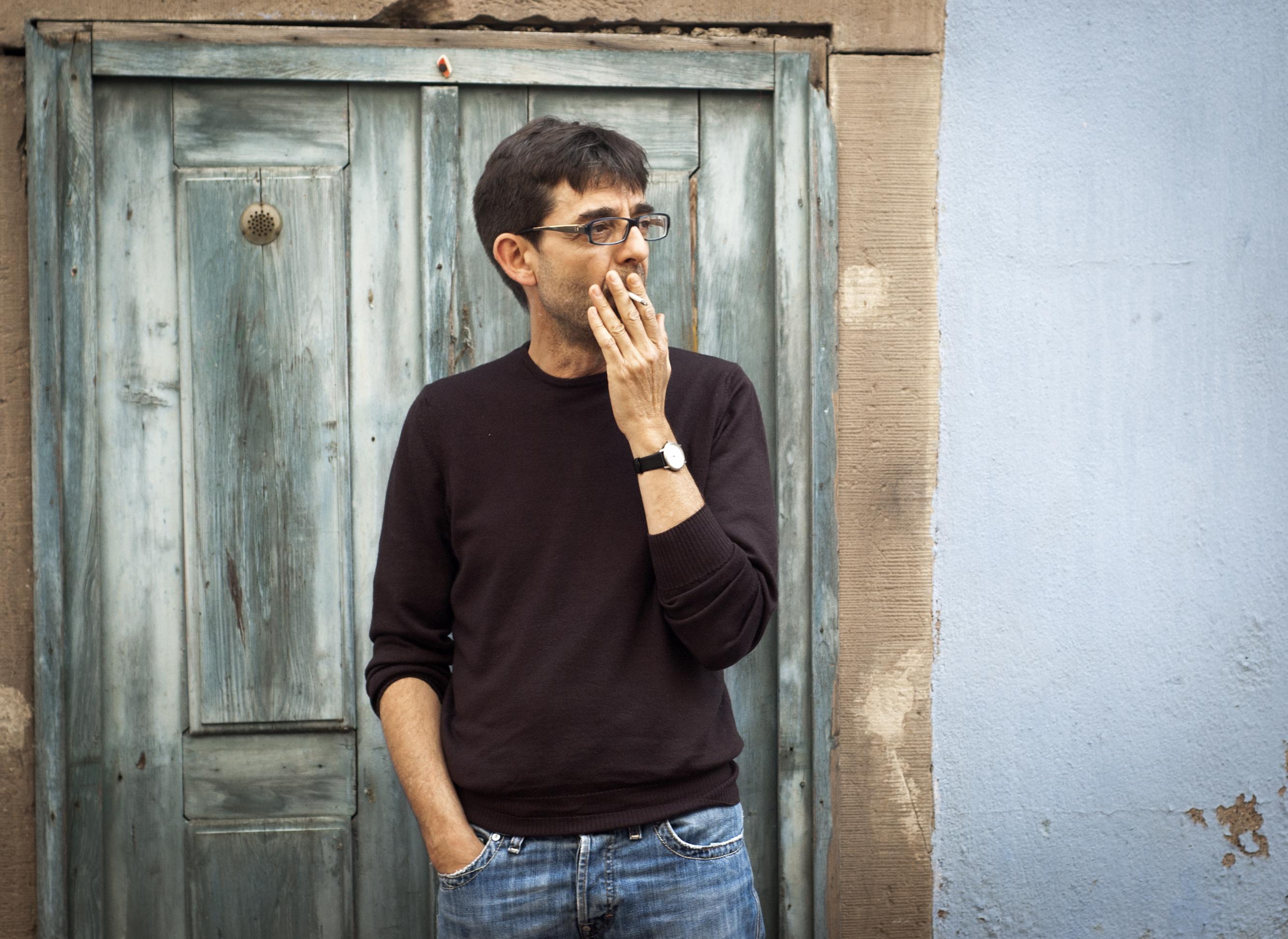 L'écrivain Thierry Aué